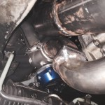 Exhaust System Top View