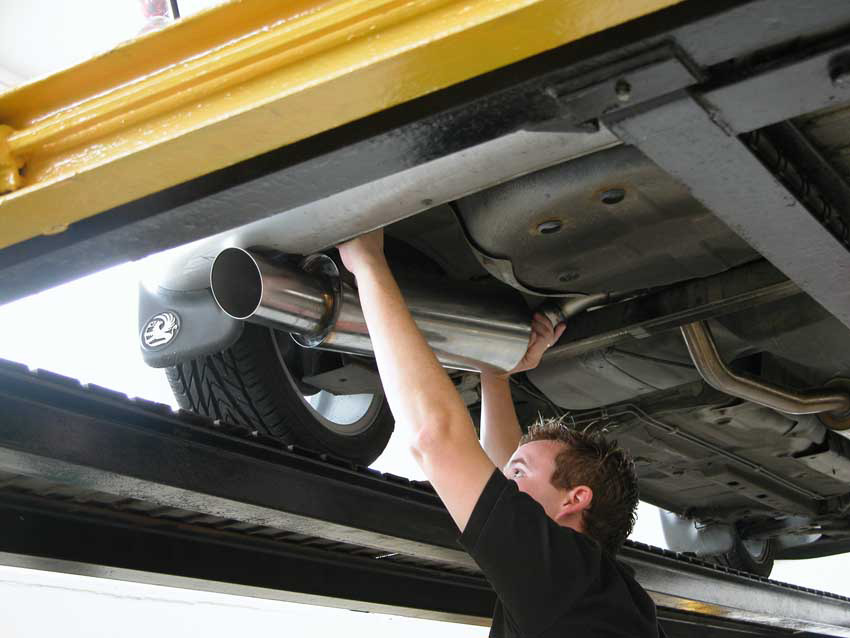 Southport Exhaust Fitting