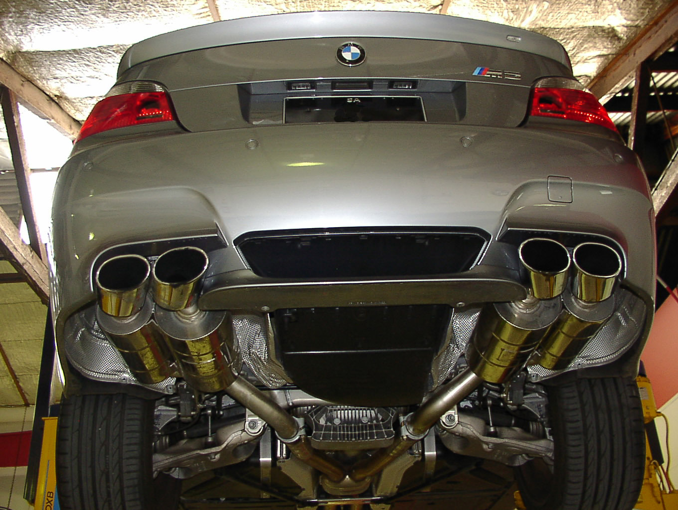 Exhaust BMW