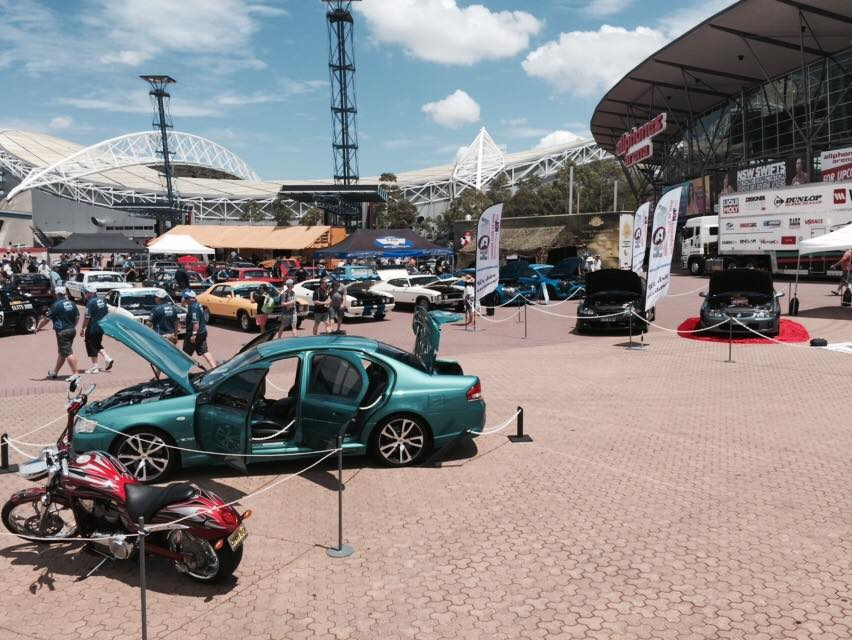 Car Show Area