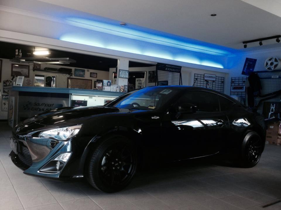 Black Toyota Car