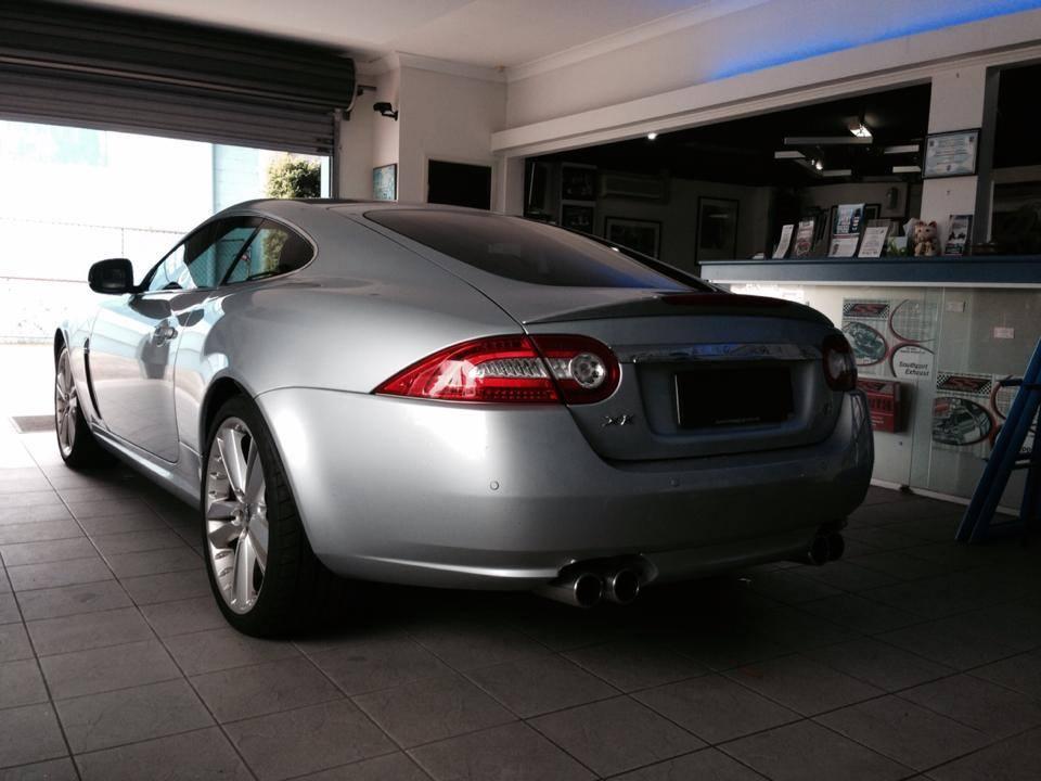 Silver Back Car