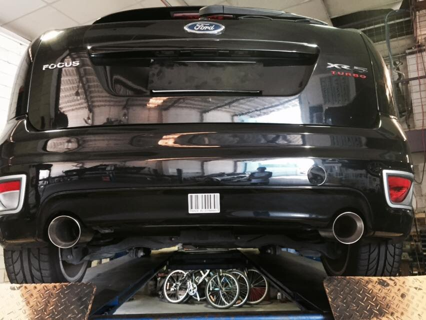 Ford Focus Exhaust Back Repair