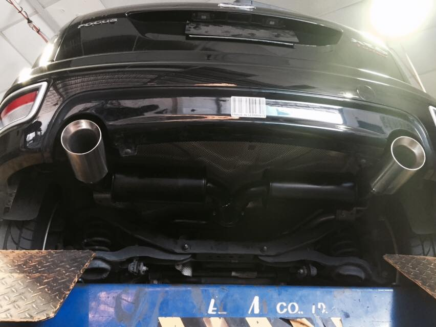 Ford Focus Lower Back Area