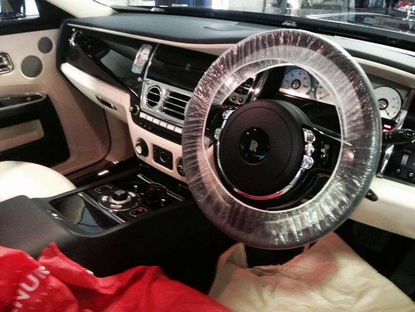 Rolls Royce Steering Wheel New