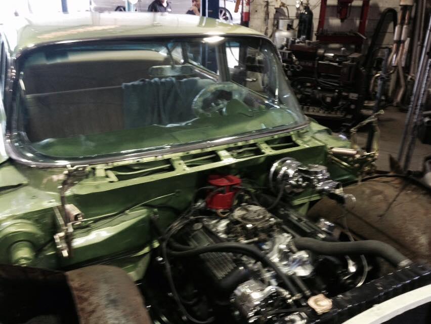 Car Engine Body